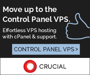 Crucial Control Panel VPS